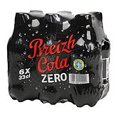 Breizh Cola Soda  Zéro Bouteille - 6x33cl