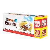 Barres Kinder Country x20 barres - 2x235g - 470g