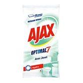 Ajax Lingettes Optimal 7 Hygiène avec javel le paquet de 50