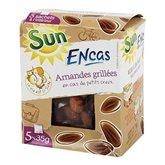 SUN Encas Amandes Grillées 175 g - Lot de 5