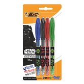 Bic Roller Gelocity Illusion Star Wars 4 couleurs le