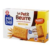 LU Petit Beurre Pocket P'ti Déli 3x12 sachets 300g