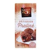 Or Chocolat Pâtissier Tablette d Praliné - 200g