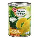 Ananas Douceur du verger 10 tranches jus naturel - 340g