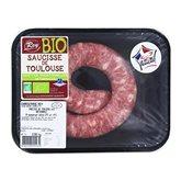 Saucisse de Toulouse bio LPF Rey Salaisons - 350g
