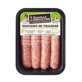 Saucisse de Toulouse x4 - 500g