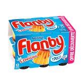 Flanby Flan L'Original goût vanille nappé caramel les 12 pots de 100 g