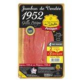Jambon de Vendée Petitgas 4 + 1 offerte - 240g