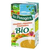 La Potagère Mouliné légumes bio  Printanier 1L