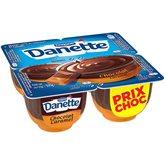 Danone Crème dessert Danette Chocolat/Caramel - 4x125g