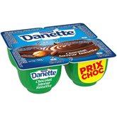 Danone Crème dessert Danette Choco/Noisette - 4x125g