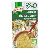 Knorr Potage bio  Mouliné légumes basilc - 1L
