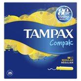 Tampax Tampons Compak  Régulier avec applicateur - x25