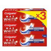 Colgate Dentifrice max white  3x75ml