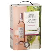 Cambras Vin rosé Ormes de  Grenache IGP - BIB 5L