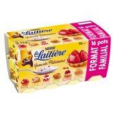 Nestlé Yaourts La Laitière Fruits pâtissiers16x125g