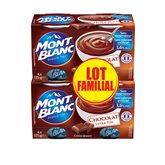 Mont Blanc Crème dessert  Chocolat - 2x4x125g