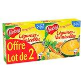 Liebig Potager malin  Legumes & vermicelles - 2x30cl