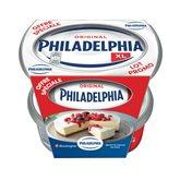 Philadelphia Fromage nature  300g + 300g gratuit