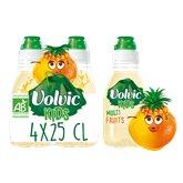 Volvic Eau Juicy kids Bio  Multifruits - 4x25cl