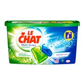 Le Chat Lessive expert  Duo-bulles - 30 doses - 750g