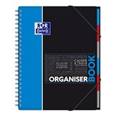 Oxford Cahier organiserbook Oxford Bleu 24.5x31cm - 160 pages