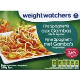 WeightWatchers Spaghettis Weight Watchers Gambas - 350 g