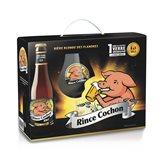 Rince Cochon Coffret Bière Rince Cochon Blonde - 3x33cl + verre