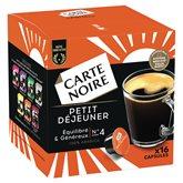 Carte Noire Café Petit déj Carte Noire Compatible Dolce Gusto - x16