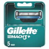 Gillette Lames Gillette Mach3+ - x5