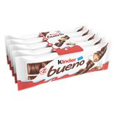 Kinder Barre chocolatée Kinder Bueno 5x2 barres - 215g