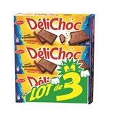 Delacre Biscuit Délichoc Chocolat lait 3x150g