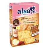 Alsa Préparation gâteau Alsa Saveur d'Antan Pommes - 300g