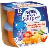 Nestlé Bols du soir Nestlé Macaroni tomate - 2x200g
