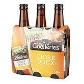 Cidre doux Les Goelleries,LES GOELLERIES,3x33cl