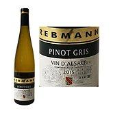 Rebmann Vin d'Alsace  Pinot gris AOC - 75cl
