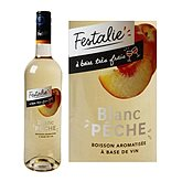 Festalie Boisson vin blanc  Pêche - 75cl